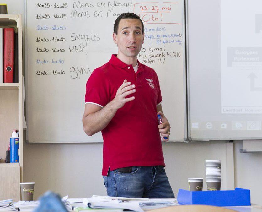 Nieuwe leraar – Bert Jansen